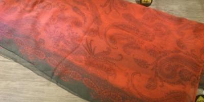 شال شبرنگ طرحدار